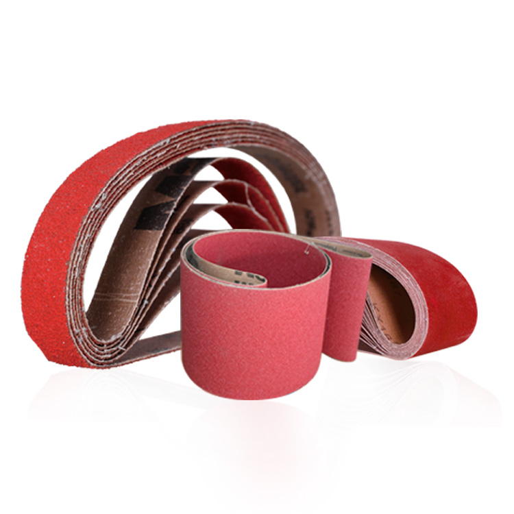 Abrasive Belt with Ceramic Grain